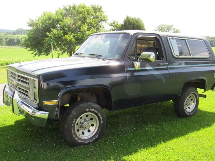 eBay: 1988 Chevrolet Blazer This is a great restoration project! #carparts #carrepair