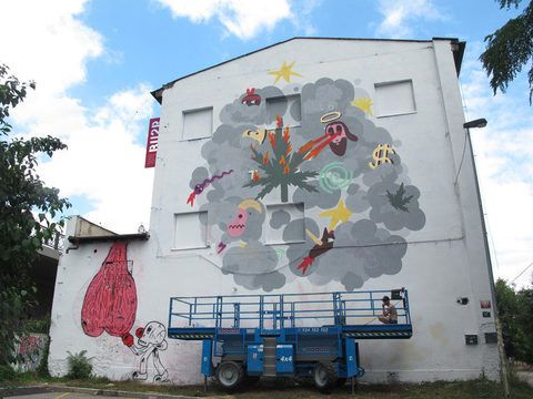 Festival of animated Graffiti, Meetfactory Prague
