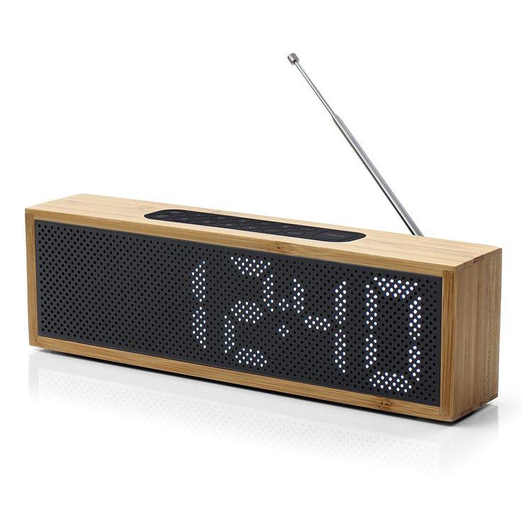 Radio réveil Titanium