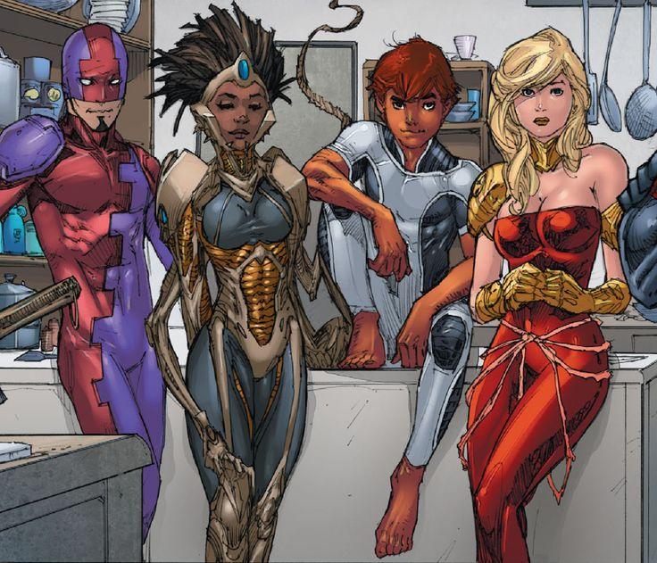 Wonder Girl: Cassie Sandsmark in Teen Titans Vol 4 Annual # 3 - Art by Kenneth Rocafort