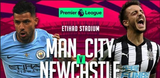 Prediksi Bola Manchester City vs Newcastle United 21 Januari 2018