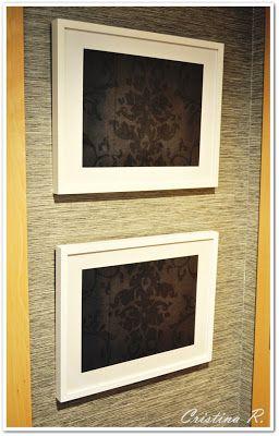 Tapa contador diy en ikea puedes encontrar el marco de - Tapas decorativas para contadores luz ...