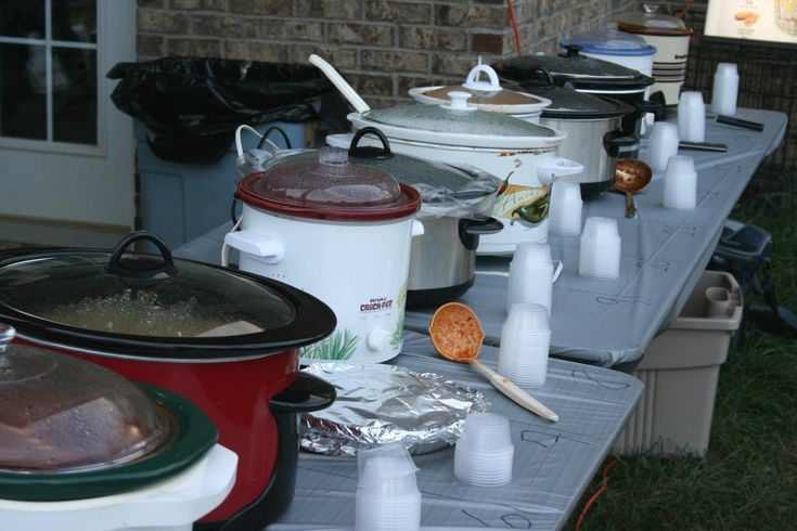 How to host a chili cook-off party   ---  I like this idea. We did this a few times at my previous job.