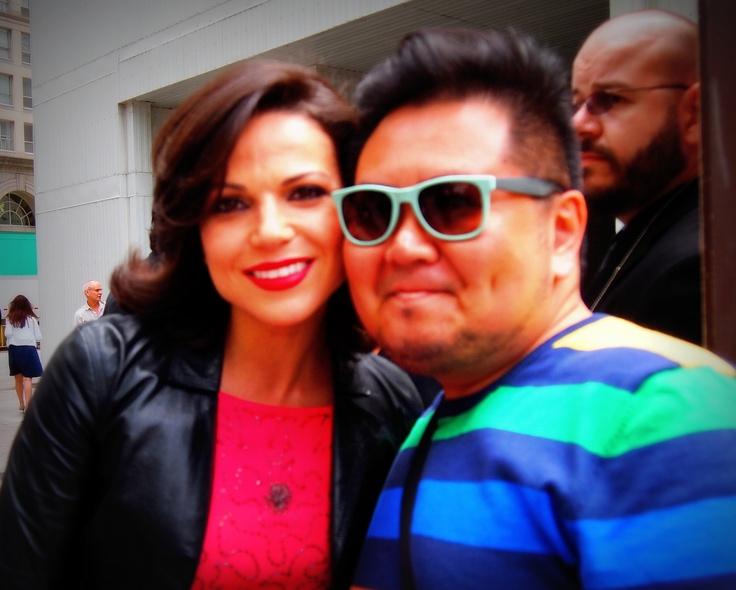 Lana Parilla and me.