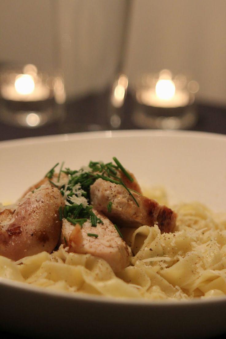 Home Made Pasta. Find the recipe here: http://awaytoawomansheart.blogspot.no/2012/03/homemade-pasta.html