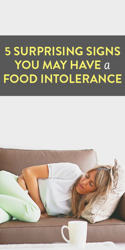 5 surprising signs you may have a food intolerance