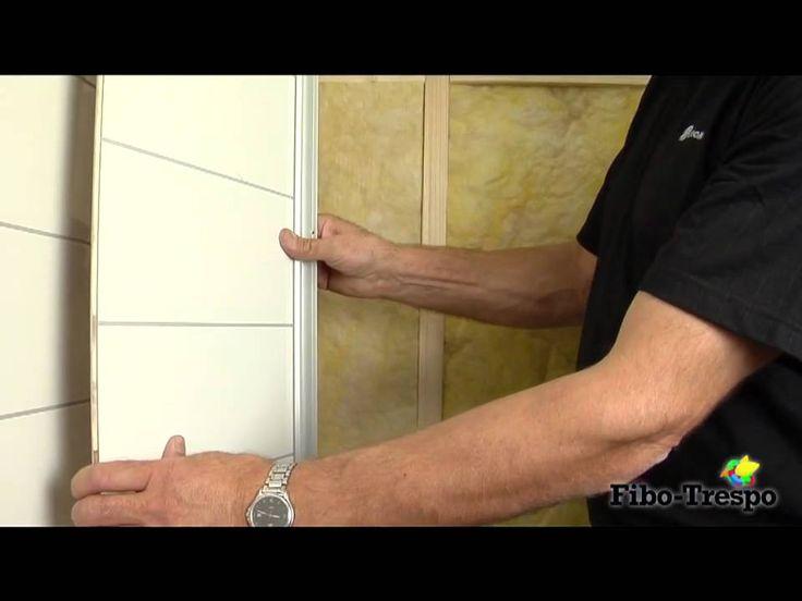 Fibo-Trespo veggpanel monteringsvideo