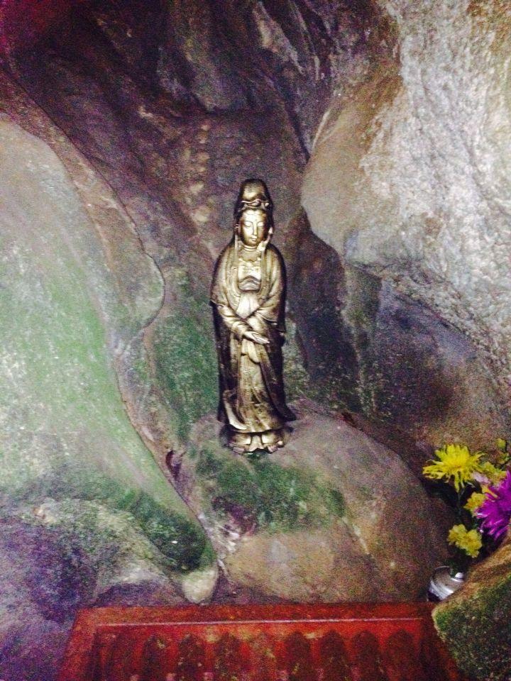Diosa dentro de cueva fujioka Japan 2015