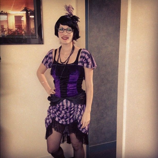 #frocktober day 31: Still frightening the co-workers!
