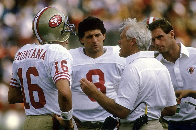 Image result for joe montana steve young images