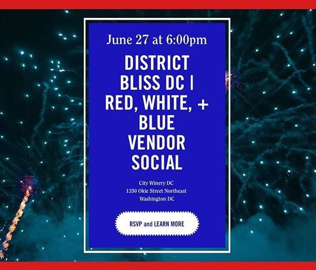 Repost Mabely Q Let S Kick Off The 4th Of July With A Red White Blue Vendor Social I Cannot Wait For This Event As We Ve Dis Bliss Social City Instagram