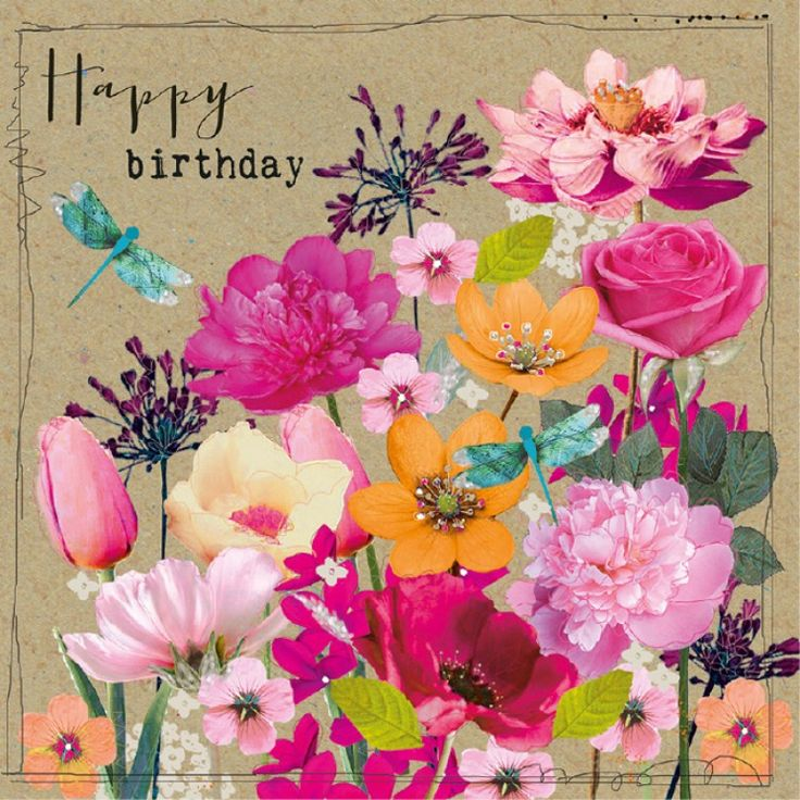 108 Best Images About Happy Birthday Flower On Pinterest