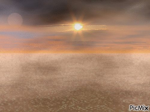 space sunset original backgrounds, painting,digital art by tonydanis