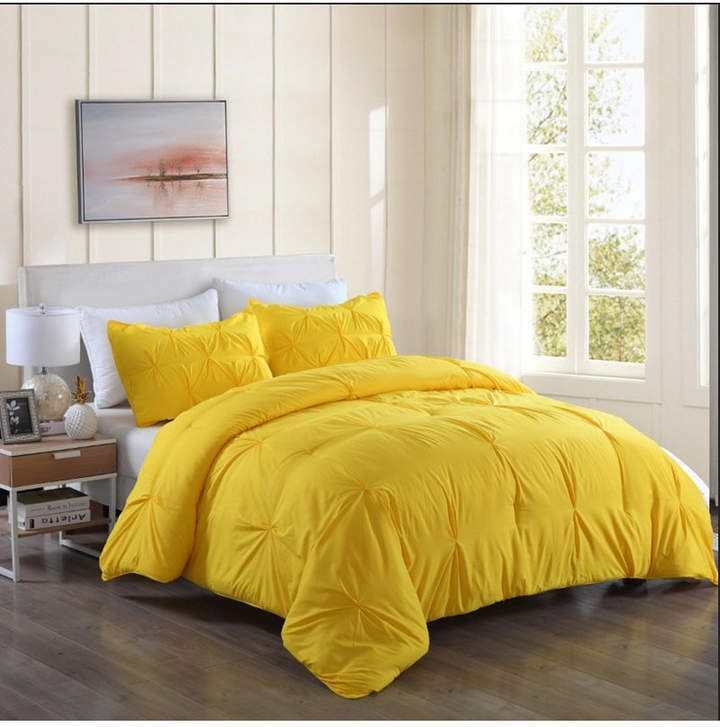 Lotus Home Pintuck Comforter Mini Set With Water And Stain