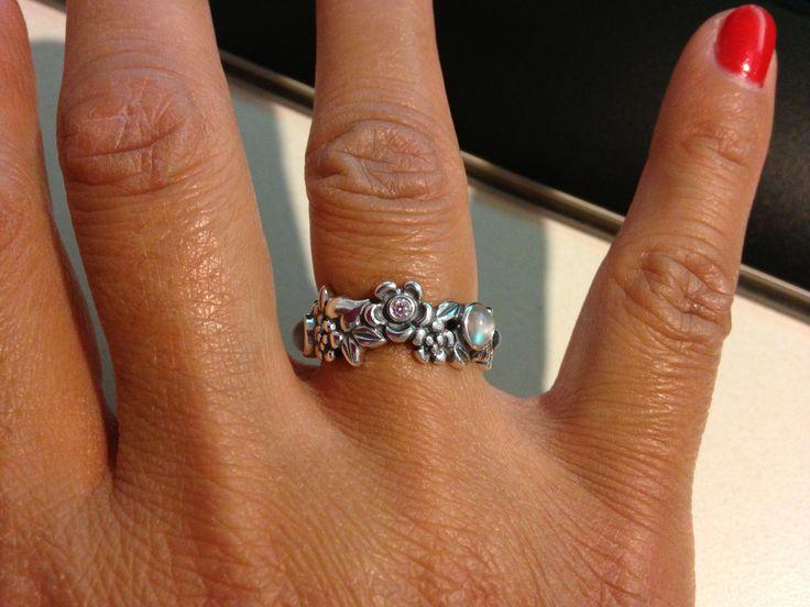 Pandora Nature S Serenity Ring
