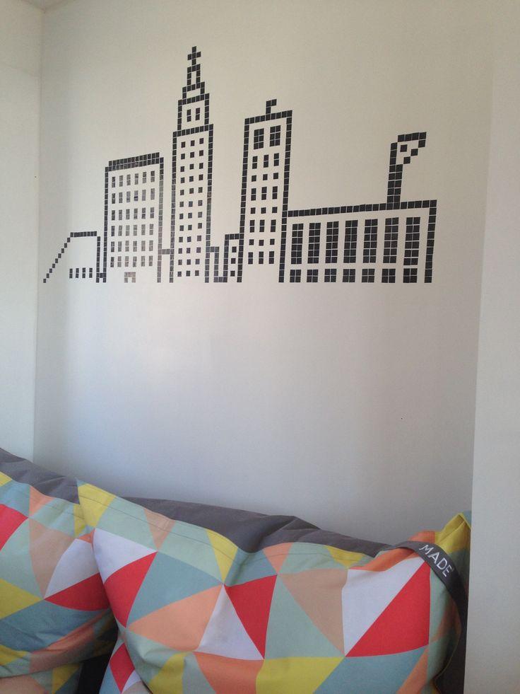 DIY. Skyline du Havre en pixel Art.