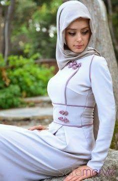 قنادر جزائرية : حجابات تركية جديدة لشتاء و ربيع 2014