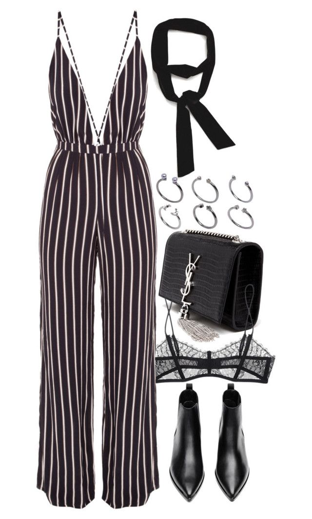 """Untitled #7980"" by nikka-phillips ❤ liked on Polyvore featuring Yves Saint Laurent, Maison Close, Faithfull the Brand, Acne Studios, Zara and ASOS"