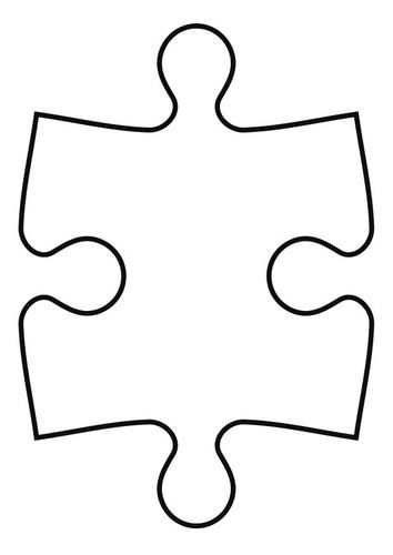 Autism Puzzle Piece Coloring Pages