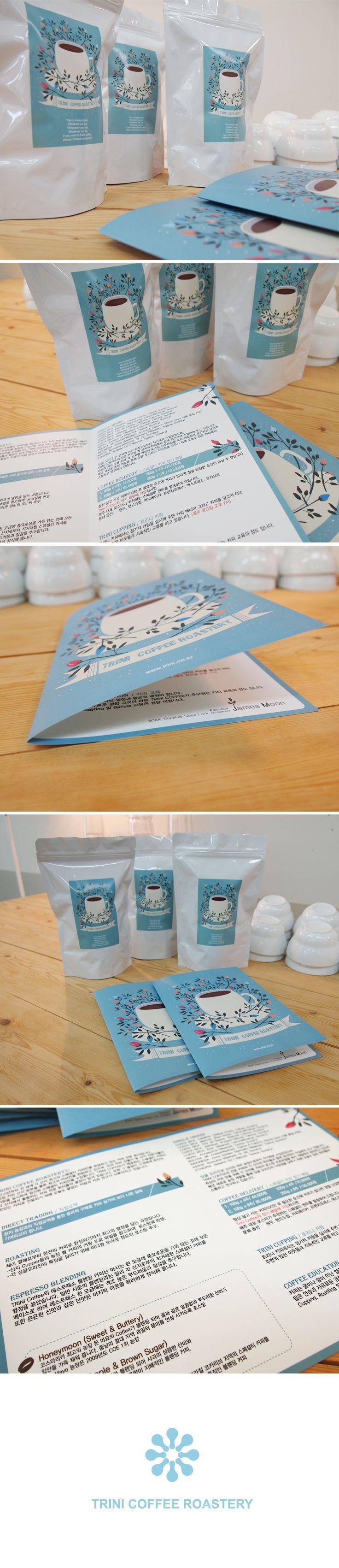 Brochure, Label design / Client_TRINI COFFEE / vayu