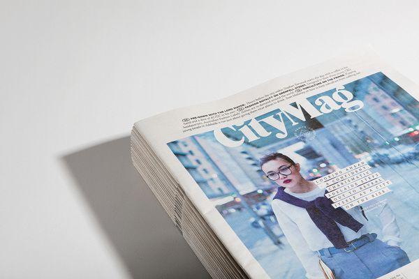 CityMag by Adam Johnson, via Behance