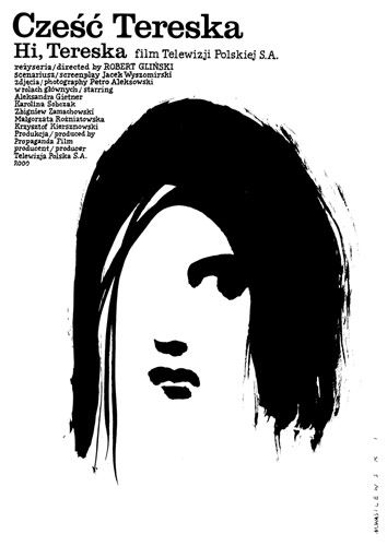 Cześć Tereska, plakat filmowy, 2000