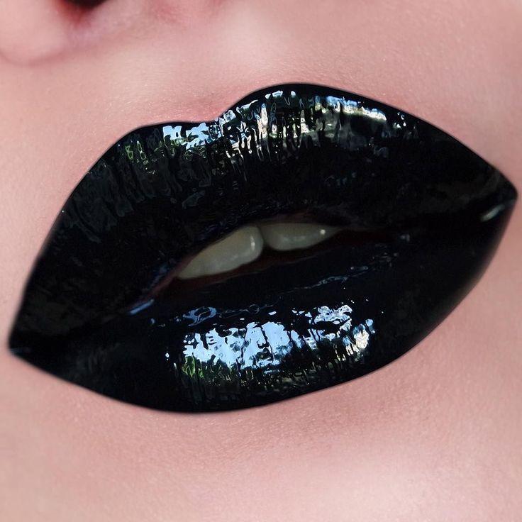 иногда черные губы картинки зрелые модели