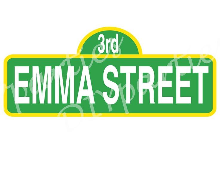 Sesame Street Sign Templates | www.imgkid.com - The Image ...