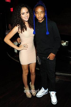 Madison Pettis And Jaden Smith Kissing Cory in the hou...