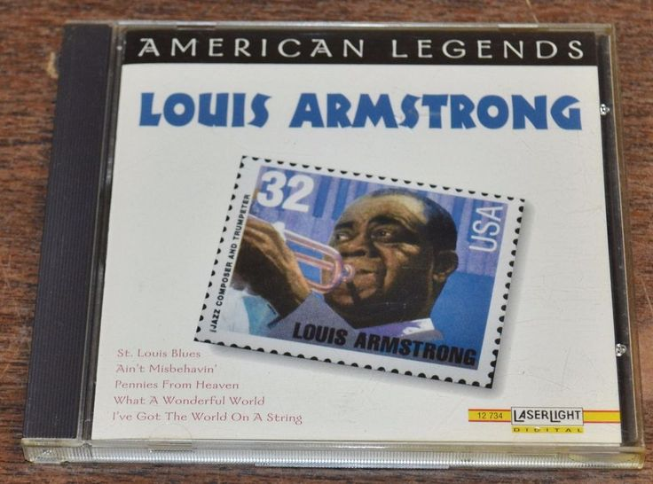 Louis Armstrong American Legends CD Mar 1996 Laserlight #Trumpet
