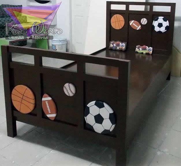 kidsworld.2000@yahoo.com.mx, 01442 690 48 41 Y WATHSAPP 442 323 98 27...LUCIDORA Y MUY DETALLADA CAMA INDIVIDUAL PARA NIÑO, ELIJE LOS COLORES Y LA DECORACIÓN, FABRICAMOS EL MODELO QUE DESEES.... #camas para niños #camas individuales #muebles divertidos #camas de deportes #balones #muebles chocolate #chocolate