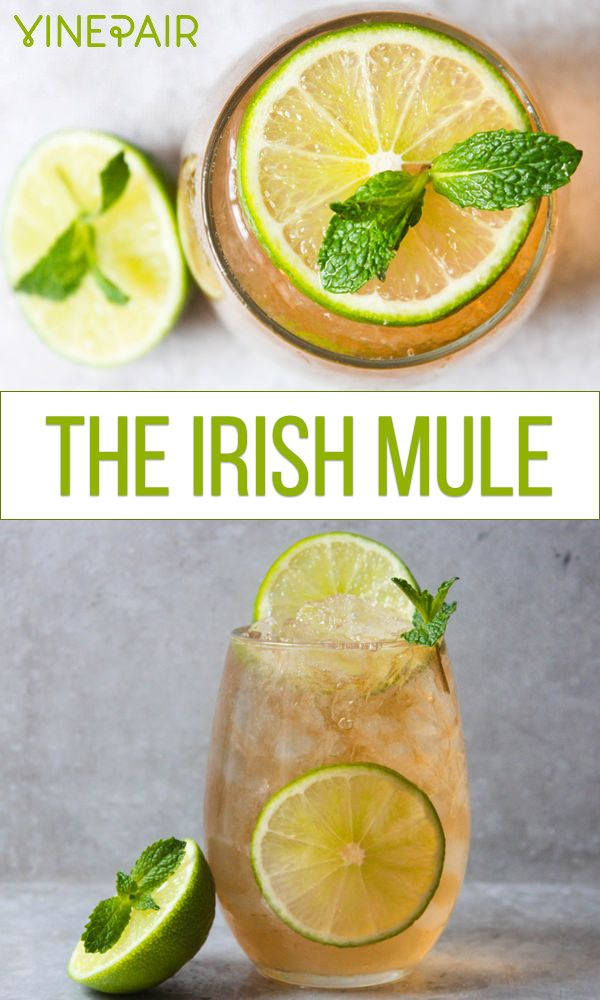Looking to take your Moscow Mule to the next level? Ditch the rum for Irish Whiskey. Get the recipe now!