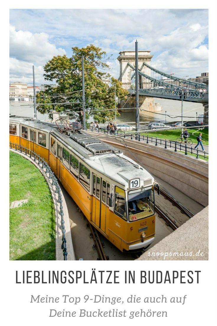 Meine 9 Lieblingsplätze in Budapest (Ungarn), die unbedingt auch auf Deine Bucketlist gehören.
