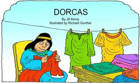 The Story of Dorcas: Free Story Printable from lambsongs