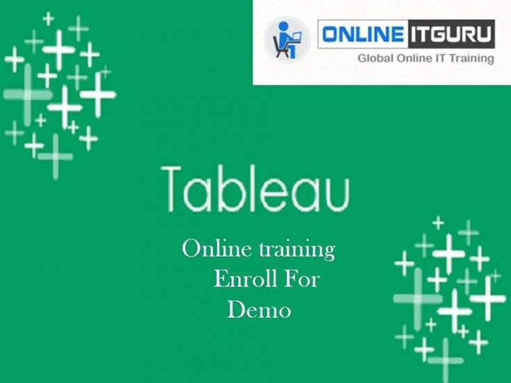 Tableau is a Business Intelligence apparatus for outwardly investigating the information.disseminate shareable dashboards,Read more at Tableau Online Training Hyderabad.      OnlineITGuru provides:  24x7 Guidance Support  Industry Experts with 6 years' Experience.  Live Projects.  Resume Preparation.  Interview Preparation.  Real Time Job Support.  For more Content Information:  Please go through the link:  Contact Information:  USA: +1 469 522 9879  INDIA: +91 988 599 1924 , 9550102466…