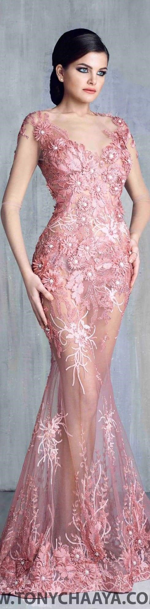 334 best vestidos para toda ocacione images on Pinterest | Long ...