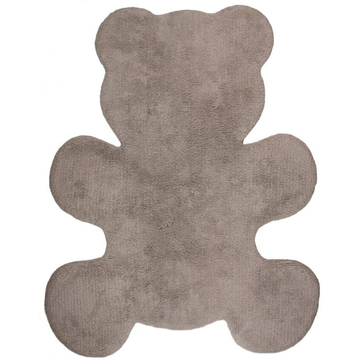 "Vloerkleed Kinderkamer ""Little Teddy Taupe"""