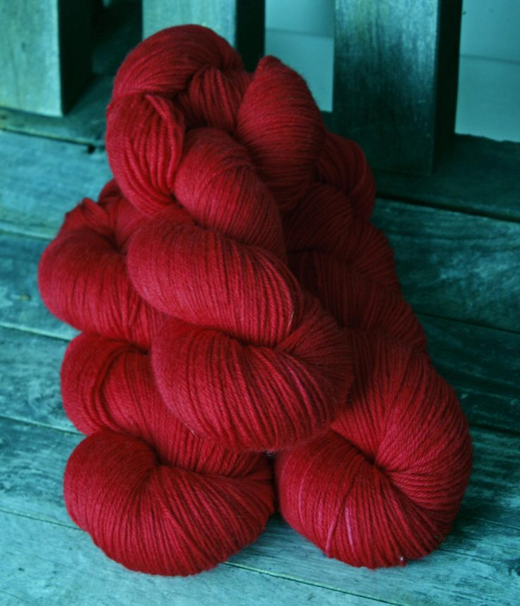 Groundwork 8ply - Little Red Dyed for the Golden Books Showcase