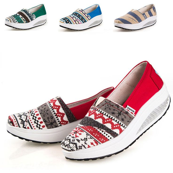 Platform Shoes Womens Sneakers Shape Fitness Ups Casual Walking Shoes Chic***