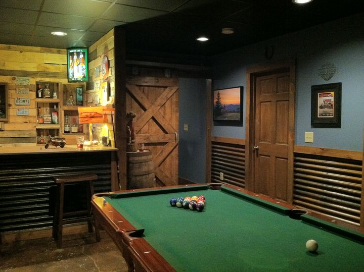 Shed Bar Ideas Man Caves Game Rooms