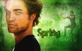 Spring Has Sprung ~ Robert Pattinson Wallpaper To Brighten Up Your Computer