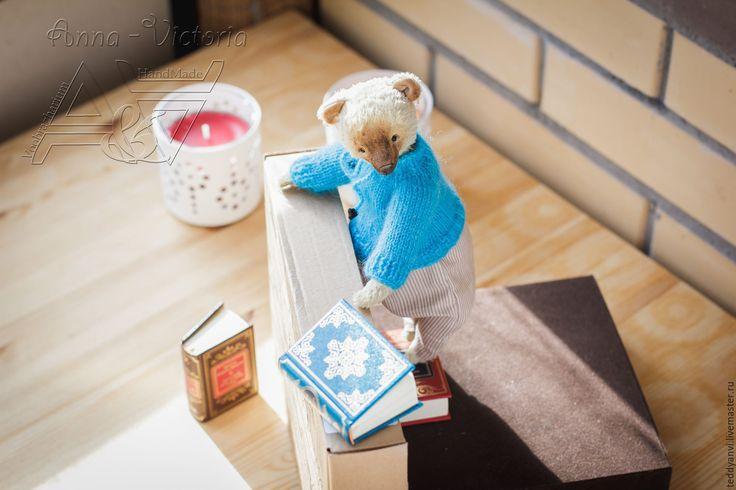 Купить Мишка готовится к весне - бежевый, мишка, мишка тедди, тедди, teddy, teddyanvi