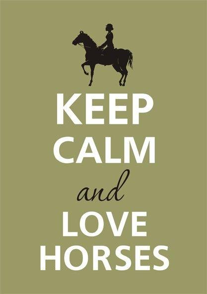 Love horses! Yes!