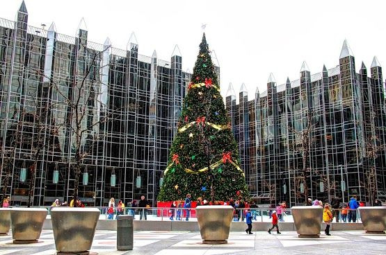 pittsburgh ppg place winter time some call it da burgh i call it home pinterest. Black Bedroom Furniture Sets. Home Design Ideas