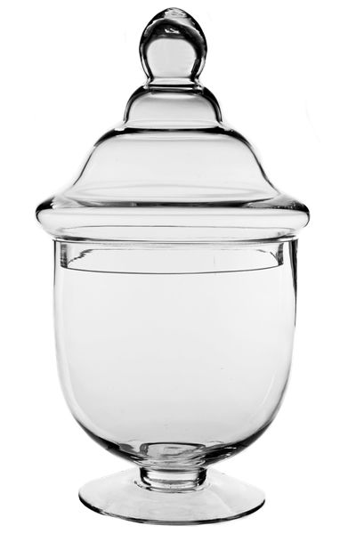 """14.25"""" height round looking jar. H-14.25"""" and it's $20.99 each"""