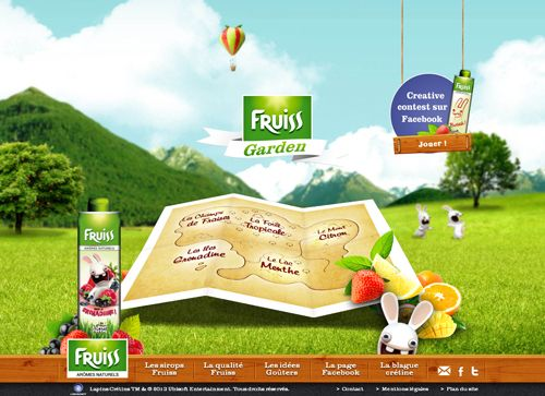 Fruiss Garden By @Team Mango Media Private Limited Via http://www.themangomedia.com/blog/what-is-fullscreen-background-websites-and-its-example-of-fullscreen-website-designs/
