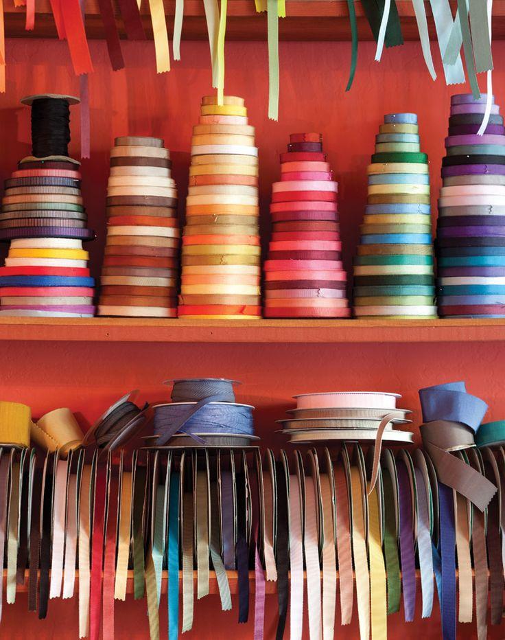 Brilliant Spools: A San Francisco Ribbon Shop