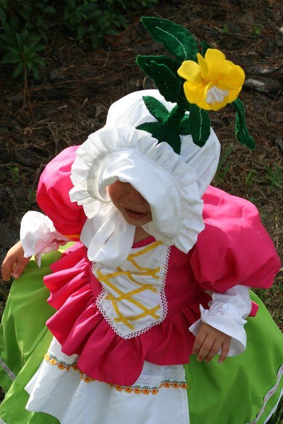 Wizard of Oz Munchkin toddler Halloween costume diy