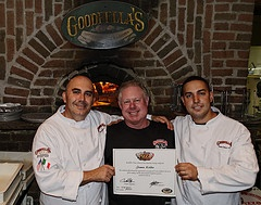 GoodFellas Pizza Class: Certificate from 5 day class in Stanton Island with world champion pizza contest winner Scot Cosentino.