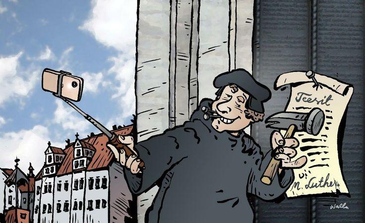 Luther-meemit opastavat hyvään elämään ja pöllyttävät 500 vuotta täyttävään luterilaisuuteen liittyviä harhakäsityksiä.